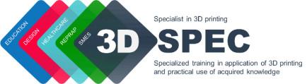Logo - napis 3D SPEC