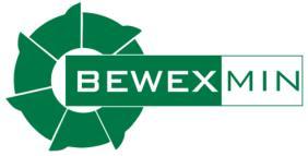Logo - napis BEWEX MIN