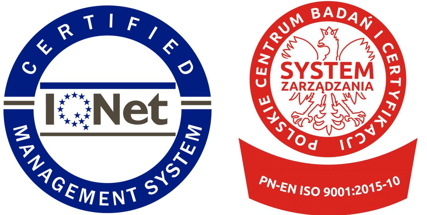 Oznaczenia - Norma PN-EN ISO 9001:2015-10