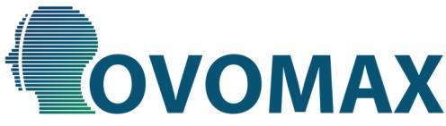 Logo - napis OVOMAX