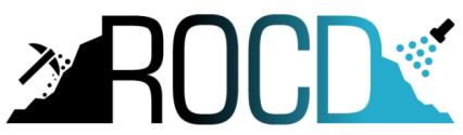 Logo - napis ROCD