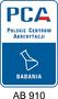 Oznaczenie - norma PCA-910
