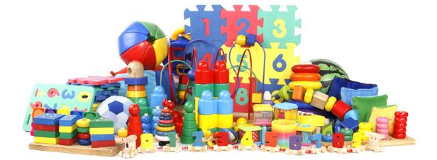 Zdjęcie - przykładowe zabawki, które mogą być testowane w laboratorium