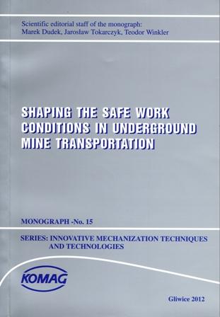 Okładka - monografii numer 15 z 2012